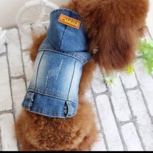 Beautiful Jean Pet Dog Denim Jacket❤️❤️🐾🐾🐾🐾🐾